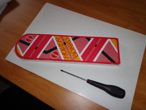 Skateboard Mattel - Back to the future