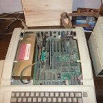 Apple IIe - Interno