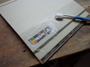 Pulizia logo Apple IIe