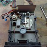 Floppy senza dispositivo di chiusura e carrello testina ossidato