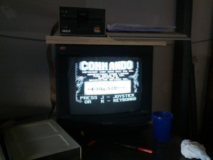 Commando su Apple IIe