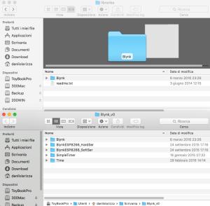 Arduino : Installazione librerie (OS X)