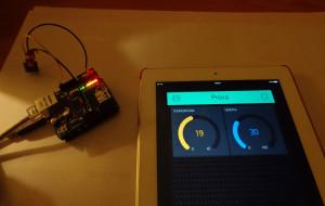 App monitor Temperatura e Umidità