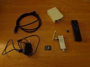 Osmc - componenti utilizzati